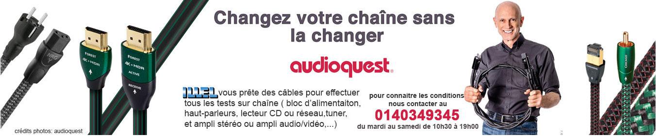 changez de chaîne sans en changer avec Audioquest'
